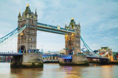 Fototapete Tower Bridge in London, Großbritannien