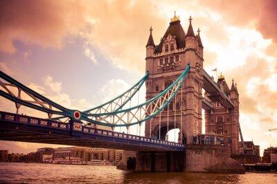 Fototapete Tower Bridge London, UK