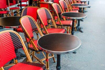 Fototapete traditionellen Pariser Kaffee