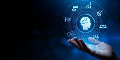 Fototapete Training Webinar Learning Education Internet business concept