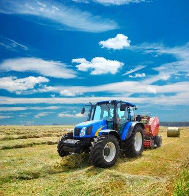 Fototapete kinderzimmer traktor  Traktor fototapete • fototapeten Landwirt, Traktor, Ernte | myloview.de