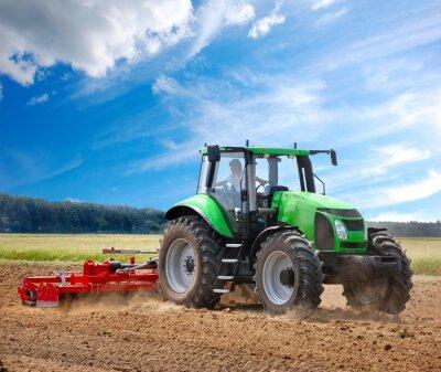 Fototapete Traktor