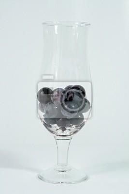 Trauben Glas