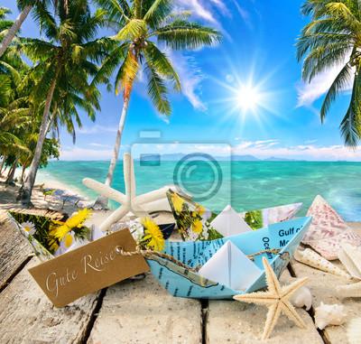 Fesselnd Fototapete Träumen, Reisen, Sehen, Planen: Lust Auf Urlaub, Gute Reise,