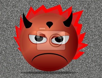 trauriger Teufel