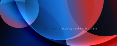 Fototapete Trendy simple fluid color gradient abstract background. Mixing of colors and lines. Vector Illustration For Wallpaper, Banner, Background, Landing Page