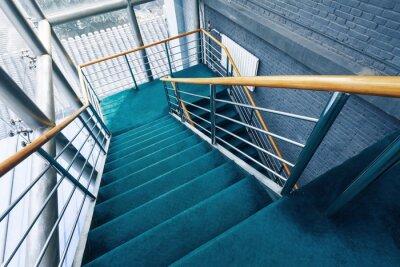 Fototapete Treppe in den Gebäuden