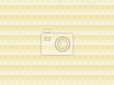 Fototapete Triangulair Muster Beige Braun Tapete