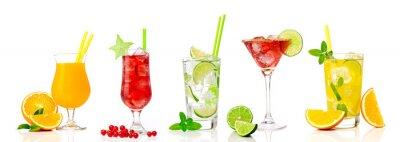 Fototapete Tropical cocktail assortments