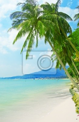Fototapete tropischen Strand