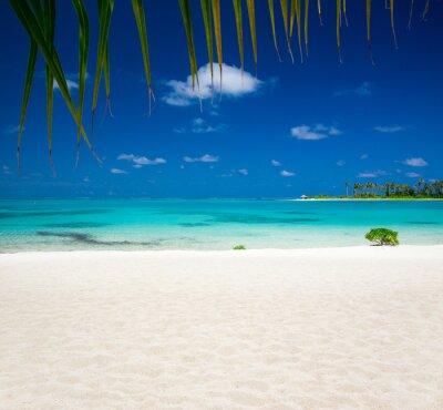 Fototapete Tropischen Strand auf den Malediven
