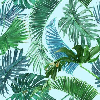 Fototapete Tropisches Blattmuster