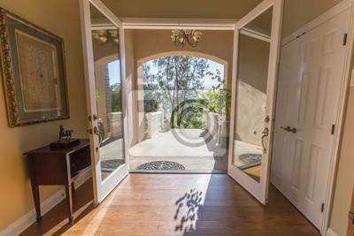 High Quality Fototapete Türen Zum Haus Und Blick Auf Innen Und Außen