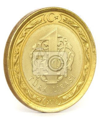 Türkische Lira Münze Fototapete Fototapeten Lira Banking