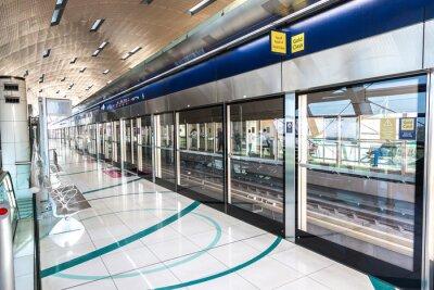Fototapete U-Bahn-Station in Dubai