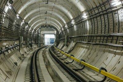 Fototapete U-Bahn-Tunnel