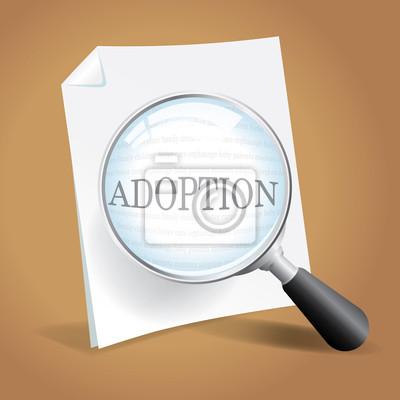 Überprüfung der Adoption Papers