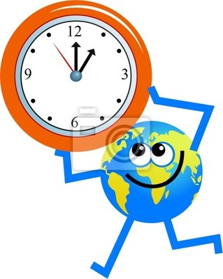 Uhr Globus