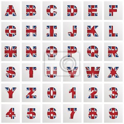 uk alphabet