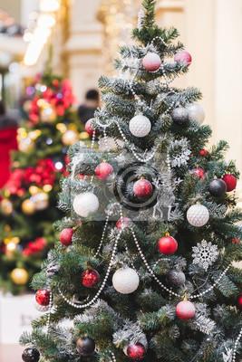 Fototapete Ungewöhnliche Ideen Für Die Dekoration Weihnachtsbaum, New Year  Stimmung