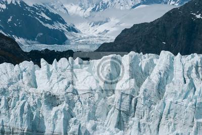 Up Schliessen Blick Auf Margerie Glacier Am Glacier Bay Nationalpark Fototapete Fototapeten Tour Tourismus Die Landschaft Schone Myloview De