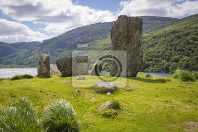Uragh Steinkreis Grafschaft Kerry Irland Fototapete