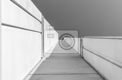 Urban Geometry Suchen Bis Zum Gebaude Moderne Architektur Schwarz