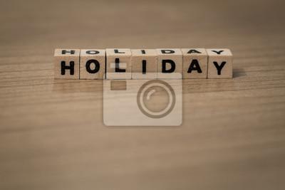 Urlaub in Holzwürfel