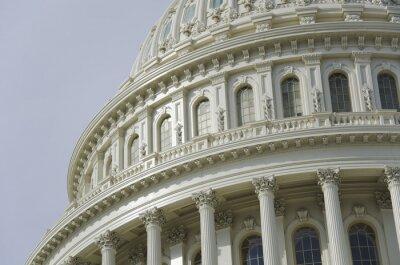Fototapete US Capitol Dome Detail