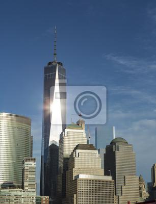 USA, Bundesstaat New York, New York City, Freiheitsturm