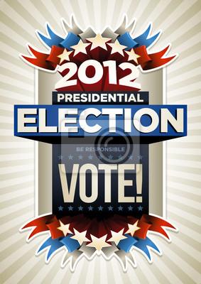 USA Wahlplakat