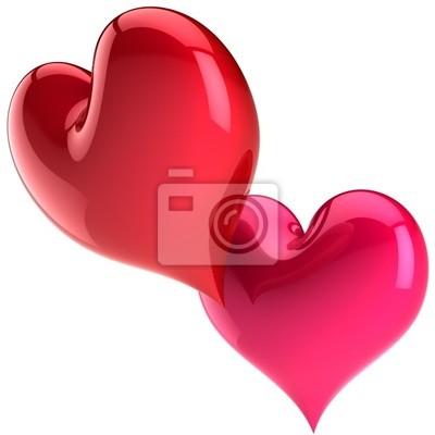 Valentinstag Herz Formen In Der Liebe Leidenschaft Spiel Herzen