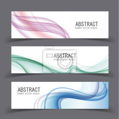 Vector abstract design banner template.vector illustration.