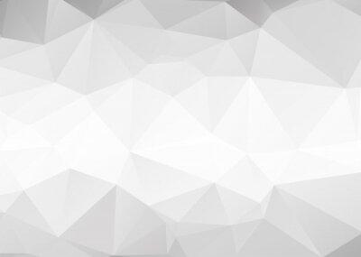 Fototapete Vector abstract grauen Dreiecke Hintergrund