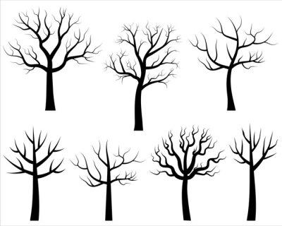 Charmant Baum Ohne Bl228tter Vorlage Ideen Entry Level - fein winter ...
