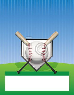 Vector Baseball Hintergrund Illustration