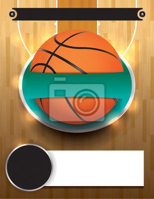 Vector Basketball-Turnier-Vorlage