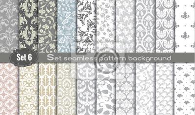 Fototapete Vector Damast nahtlose Muster background.pattern swatches enthalten für Illustrator Benutzer, Muster Muster in der Datei enthalten, für Ihre bequeme Nutzung.