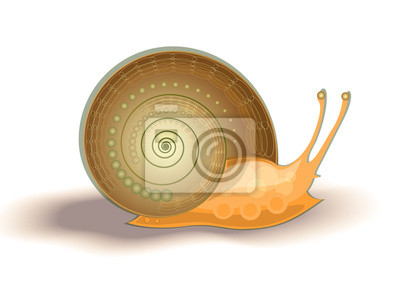 Vector illustration helix