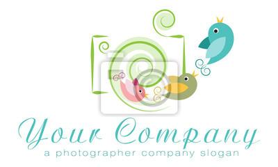 Vector Logo Vorlage Fotoagentur Logo Familie Fotografen Logo