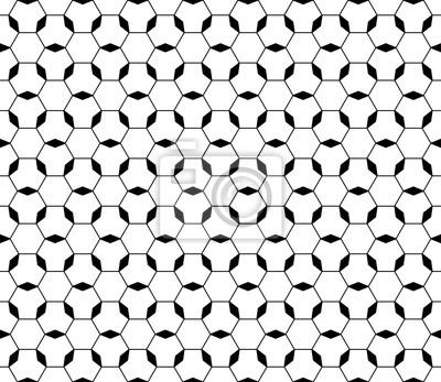 Fototapete Vector Monochrome Nahtlose Textur, Schwarz U0026 Weiß Ornamentalen  Geometrischen Muster. Dünne Linien,