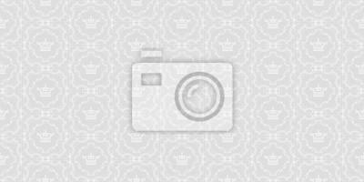 Wundervoll Fototapete Vector Nahtlose Muster. Graue Und Weiße Farbe. Design Tapete,  Dekoration Muster Wiederholen