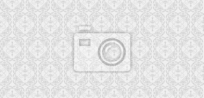 Fototapete Vector Nahtlose Muster. Graue Und Weiße Farbe. Design Tapete,  Dekoration Muster Wiederholen