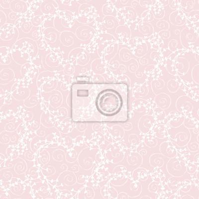 Vector nahtlose Muster mit Kränzen und wirbelt. Gut für Valentinstagkarten, Hochzeitseinladungen, etc.