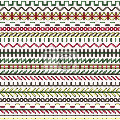 Vector nahtlose muster nahtlose muster fototapete • fototapeten ...