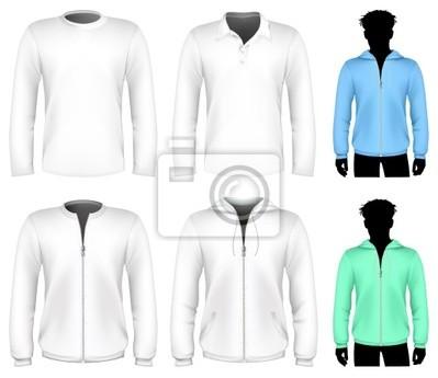 Vector t-shirt, polo-shirt und sweatshirt-design-vorlage. fototapete ...