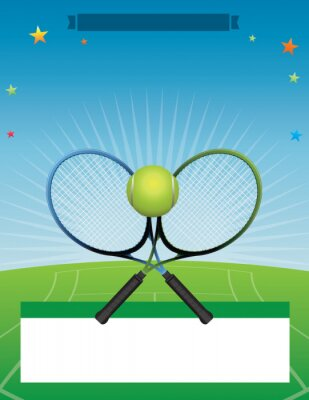 Vector Tennis-Turnierabbildung