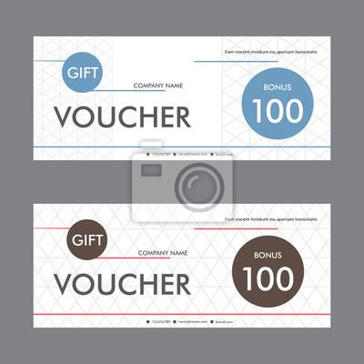 Charmant Geschenkgutschein Photoshop Vorlage Fotos ...