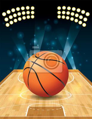 Vektor Basketball Court