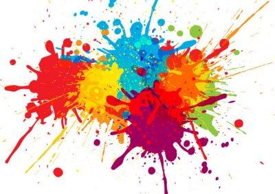 Fototapete Vektor bunten Hintergrund Design. Abbildung Vektor-Design